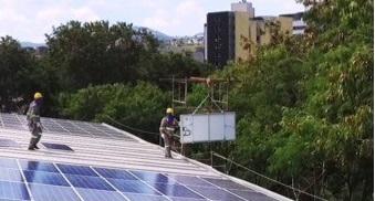 Riscos na instalação das placas fotovoltaicas T8m